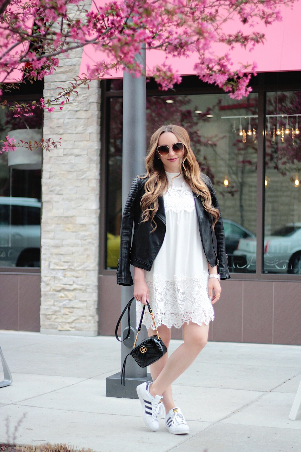 leather and lace style blogger rachel puccetti between two coasts