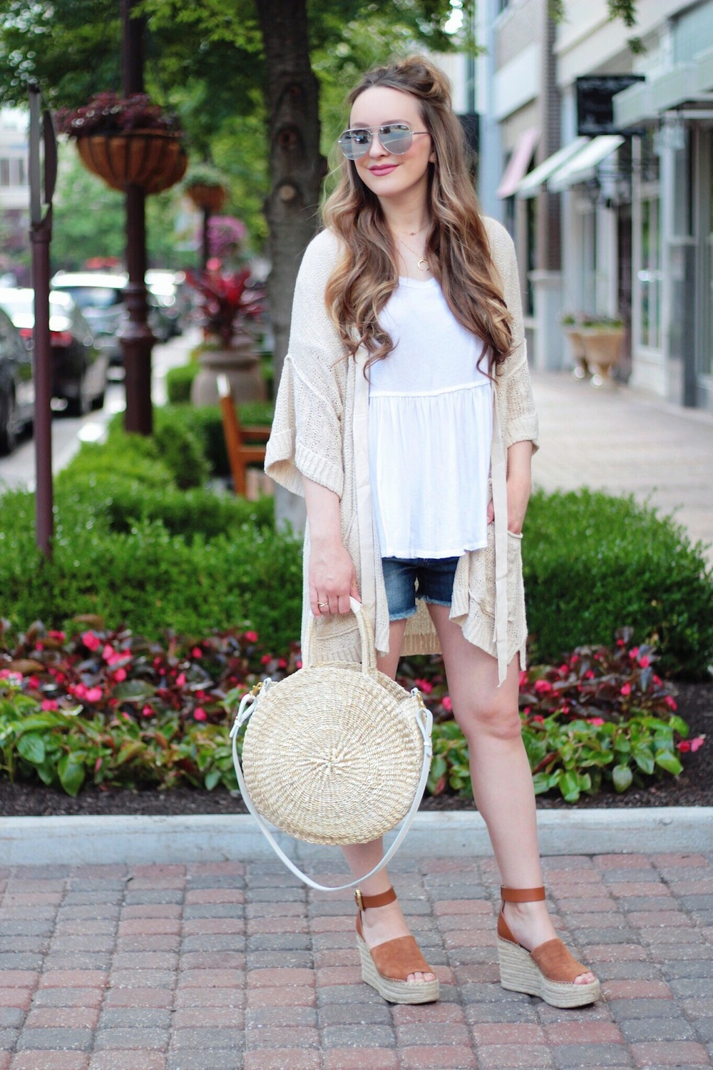 free people cardigan summer style rachel puccetti