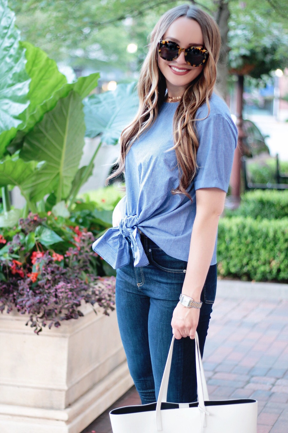 bp bow shirt summer style rachel puccetti