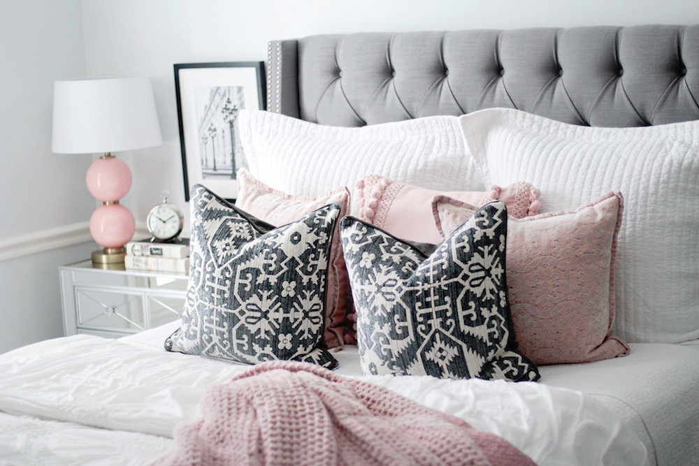 pink and grey room inspiration rachel puccetti