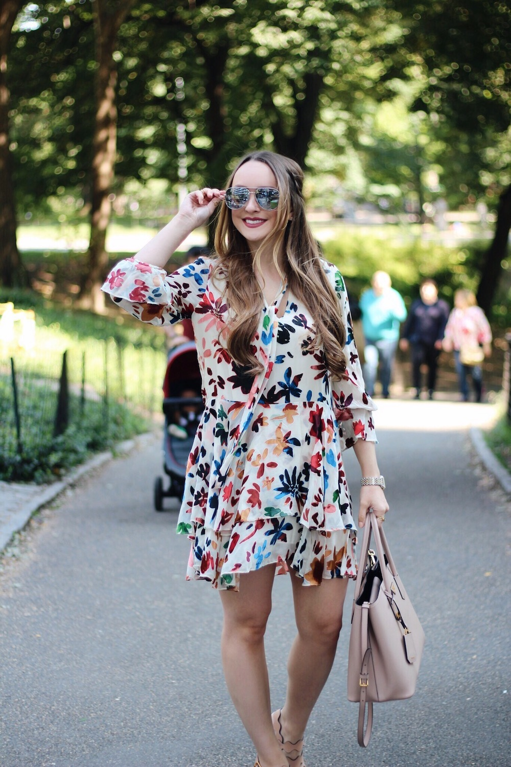 central park NYC fashion blogger rachel puccetti