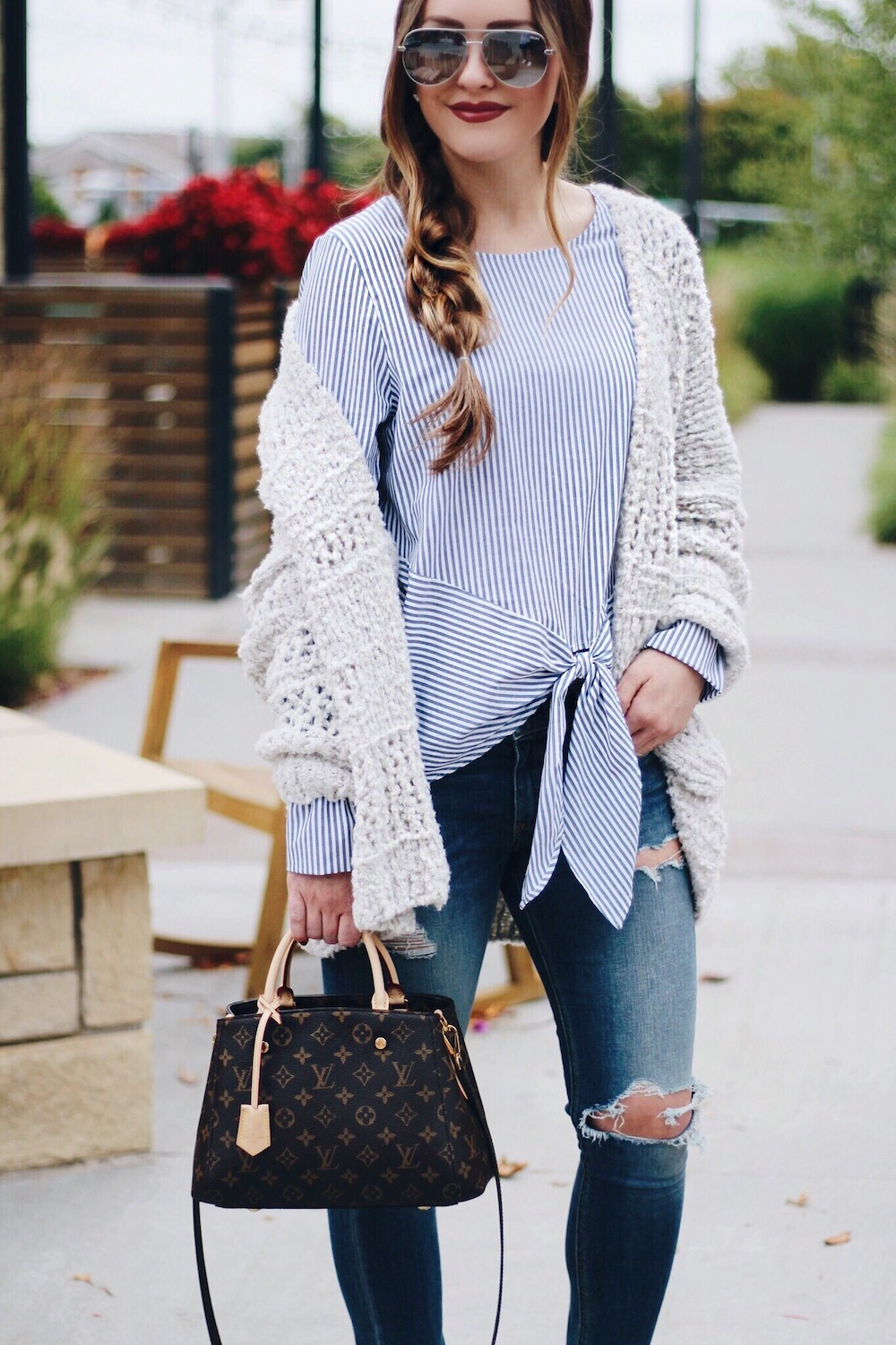 cozy fall layering rachel puccetti between two coasts