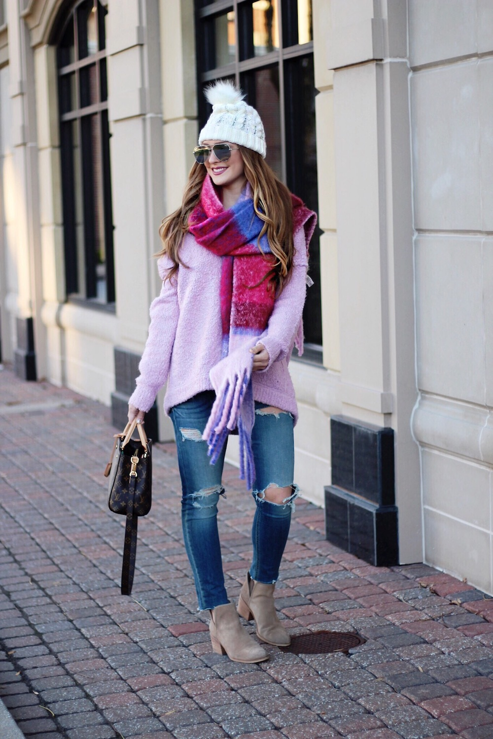 cute winter outfit rachel puccetti between two coasts