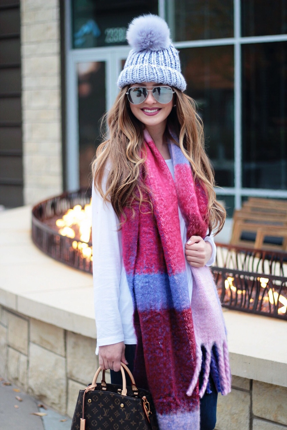 free people beanie and scarf rachel puccetti