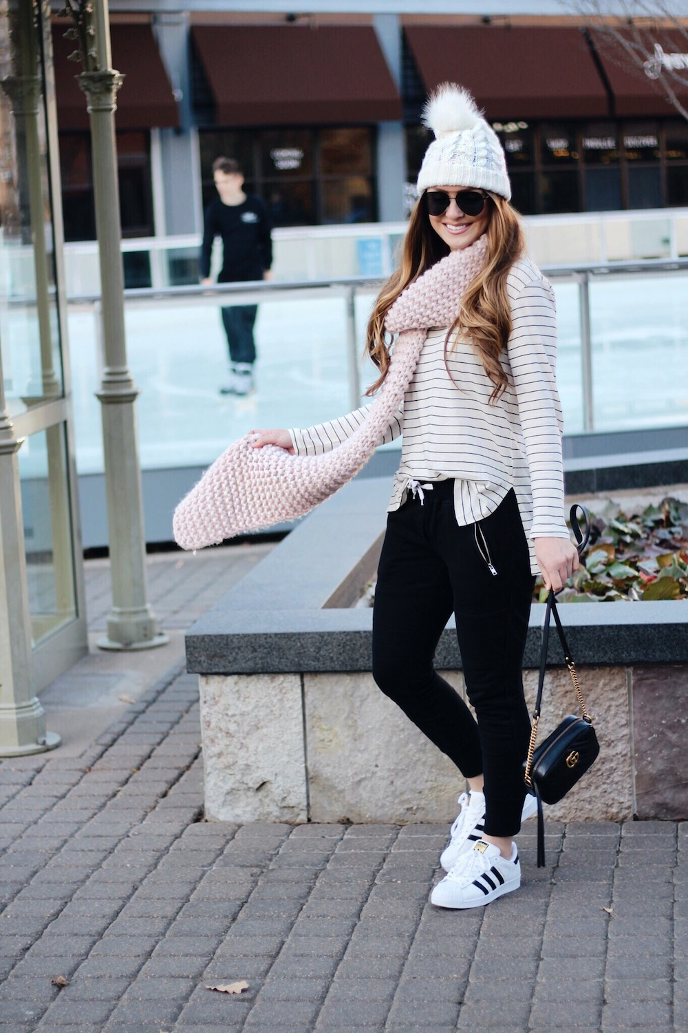 casual winter style rachel puccetti between two coasts
