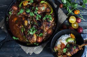 Paleo One Skillet Chorizo Chicken