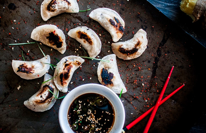 Paleo Pork Pot Stickers