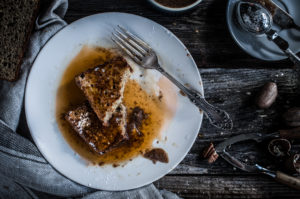 Paleo Stuffed Vanilla Bourbon French Toast