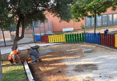 L'Ajuntament millora els accessos al Col.legi Públic Cervantes – J. Dualde