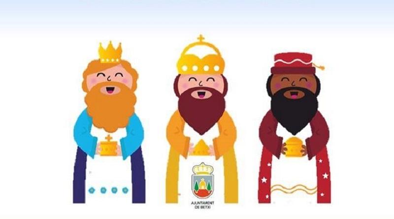 Els Reis d'Orient arriben a Betxí