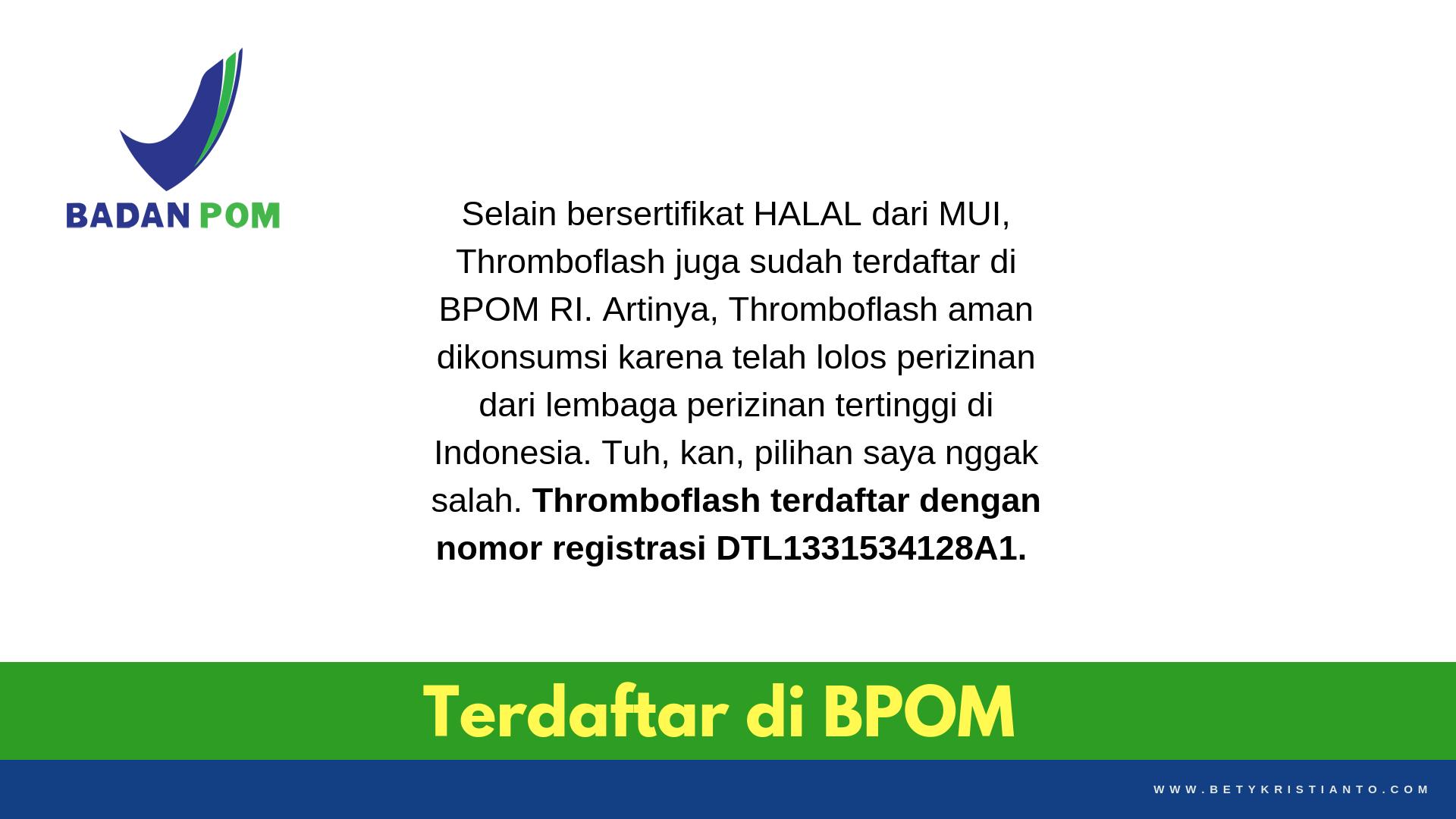 Thromboflash BPOM