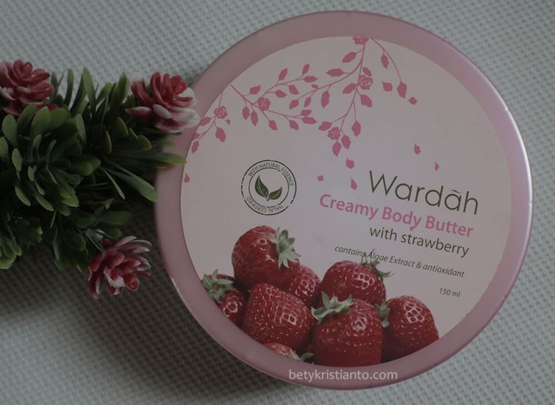 Review Wardah Creamy Body Butter Strawberry