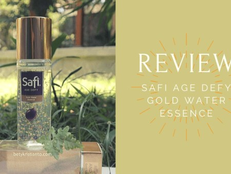 Safi Age Defy Gold Water Essence