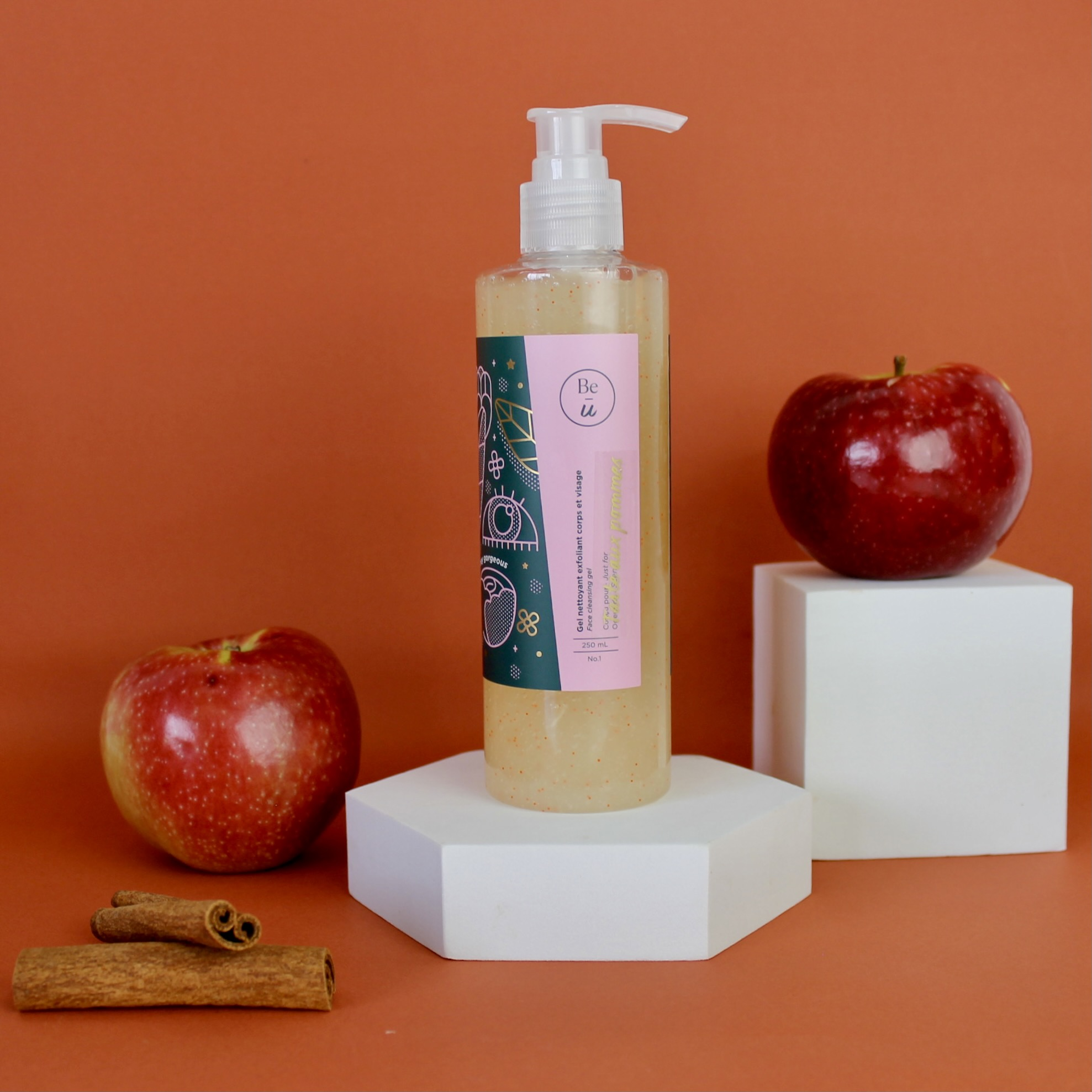 Gel Nettoyant – Tarte aux pommes