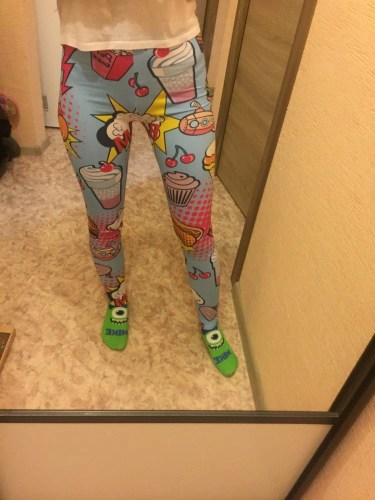 Fast Food Comix Legging photo review