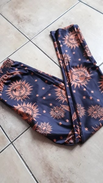 Sun and Moon Leggings photo review
