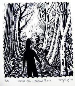 Linocut Prints Bev Byerley