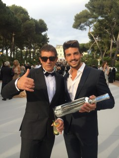 amfAR Cannes Antonio Banderas, Mariano Di Vaio