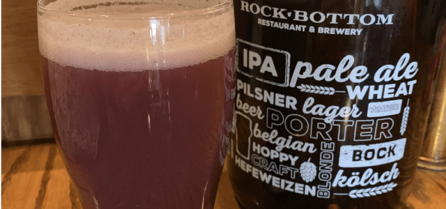 Pleasantly Surprised At Rock Bottom Brewery