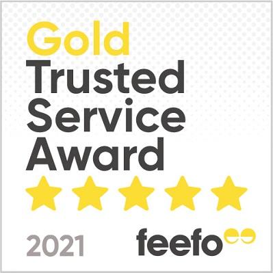 Feefo Gold Service Customer