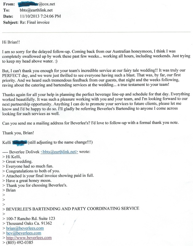 Thank you letter to catering client inviletter thank you letters expocarfo Images
