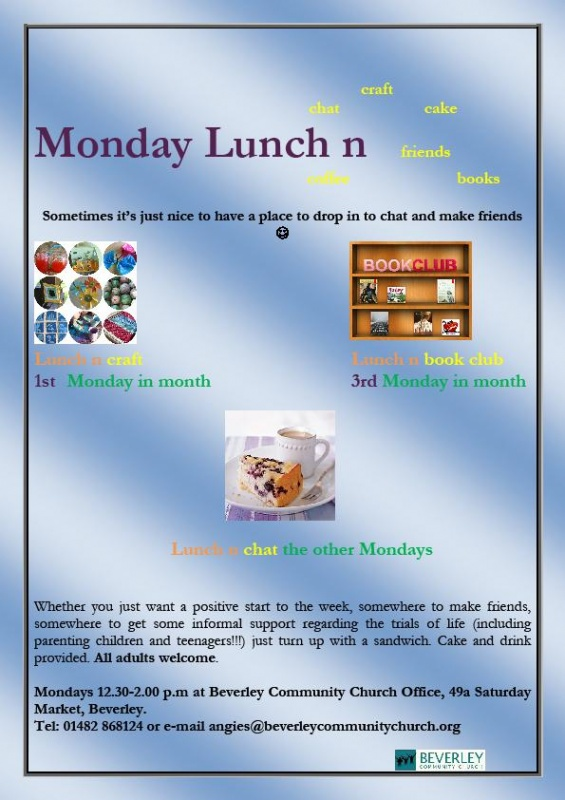 Monday Lunch n poster