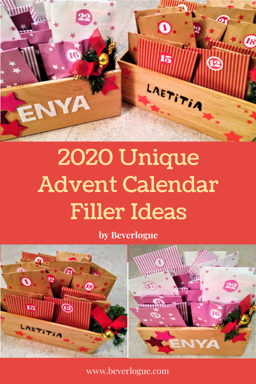 Unique Advent Calendar Filler Ideas For Kids 2020 Beverlogue