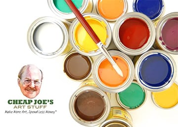 May Client Connect Offer: 10% off at Cheap Joe's Art Stuff.