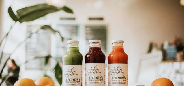 Asheville: Any Cold-Pressed Juice at Elements Real Food
