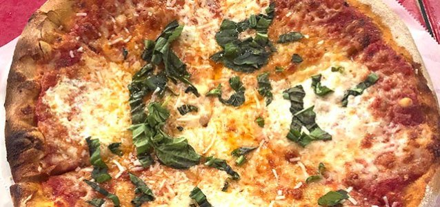 "Hendersonville: 13"" Margherita Pizza at West First Wood-Fired"
