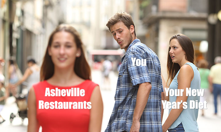 7 Places in Asheville Worth Cheating on Your New Year's Diet