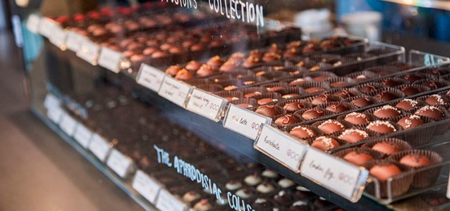 Share something sweet with your special someone this season. Here are 7 local chocolate shops in WNC.