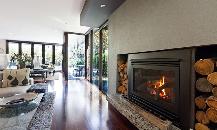 Your real estate agent can help you find a licensed fireplace professional