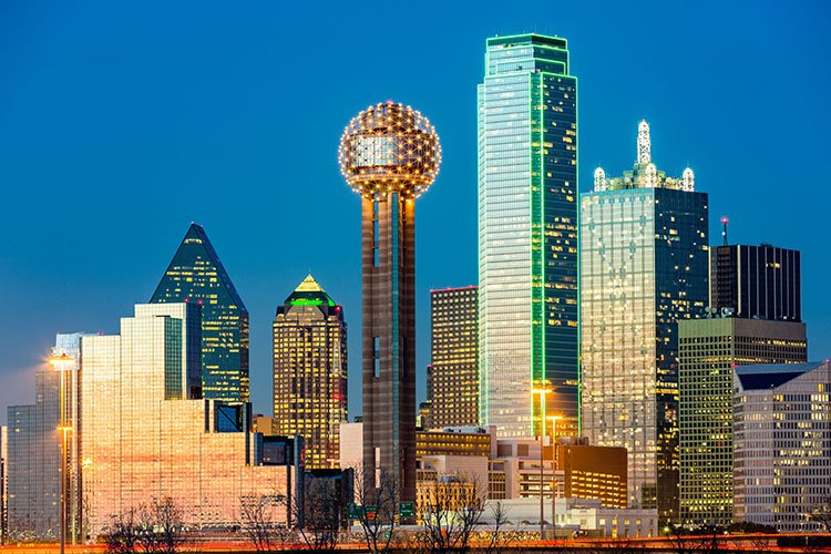 Fly direct from Asheville, NC to Dallas, TX