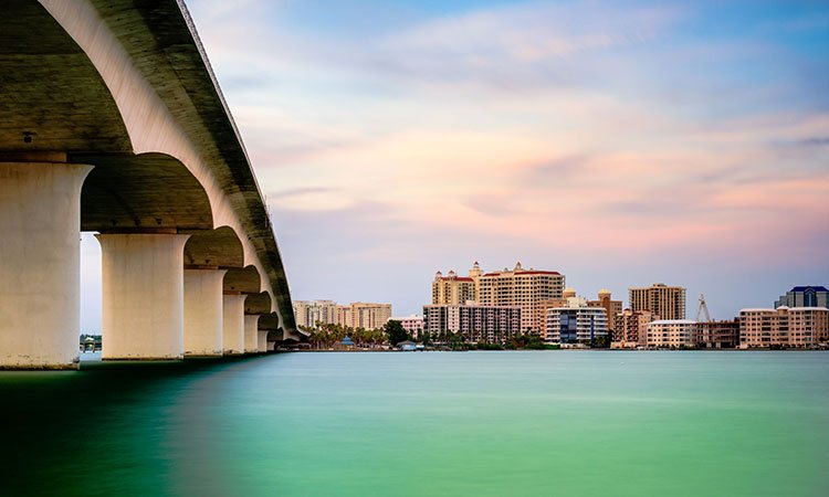 Fly direct from Asheville, NC to Sarasota, FL