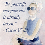 Inspiration: Be yourself