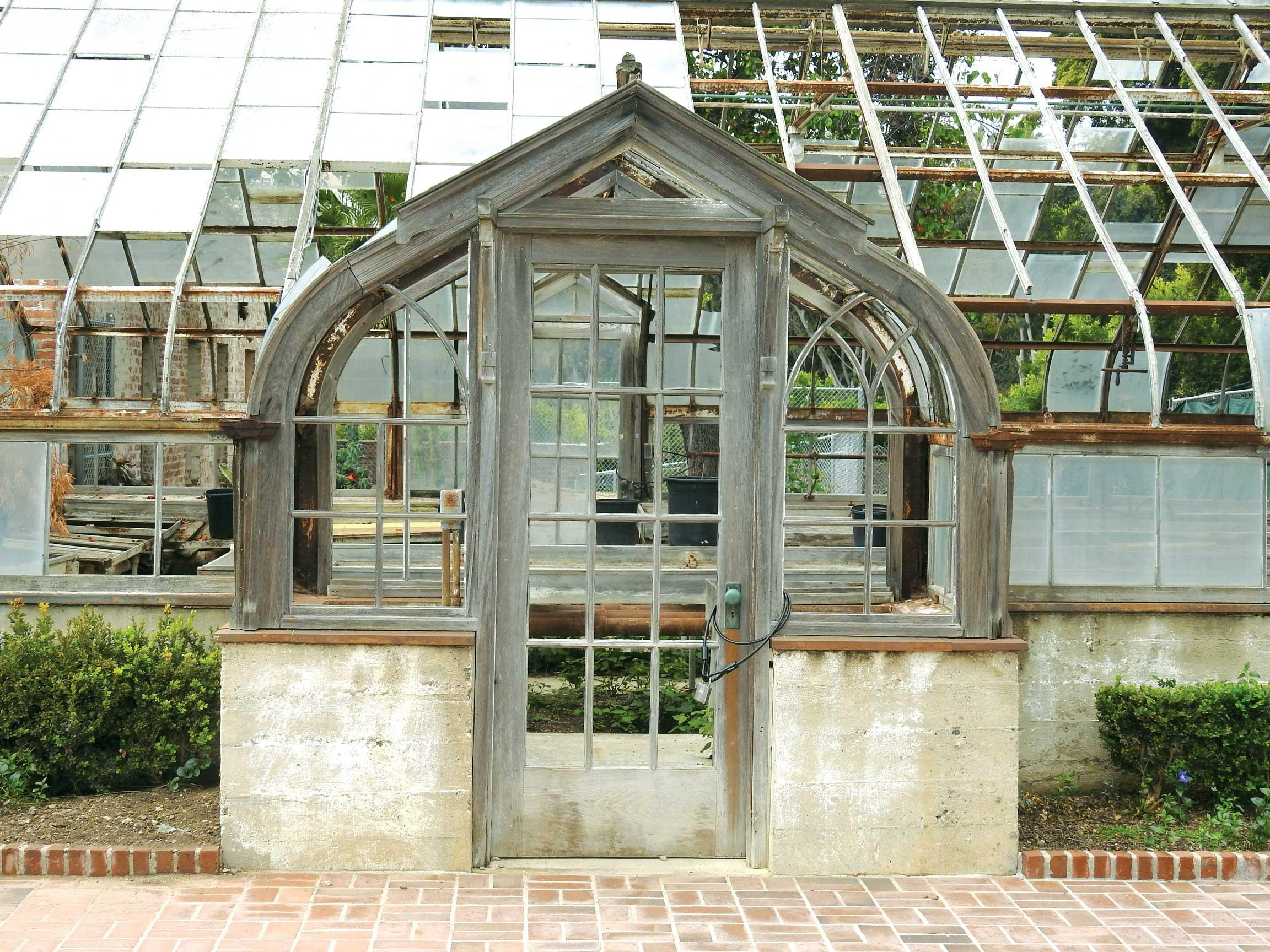 Demonstration Garden Greenhouse