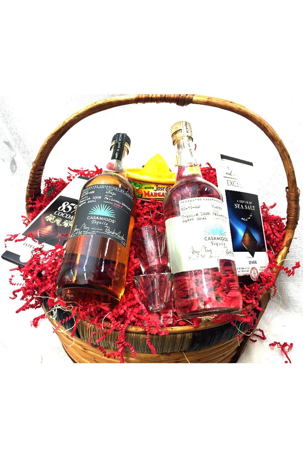 Cognac Gift Baskets Casamigos Tequila Basket Call 323 655 9995