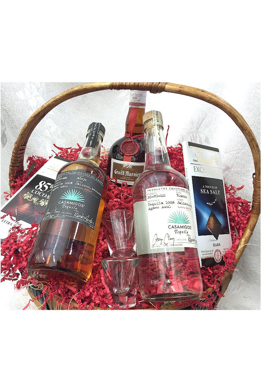 Casamigos Grand Marnier Gift Basket