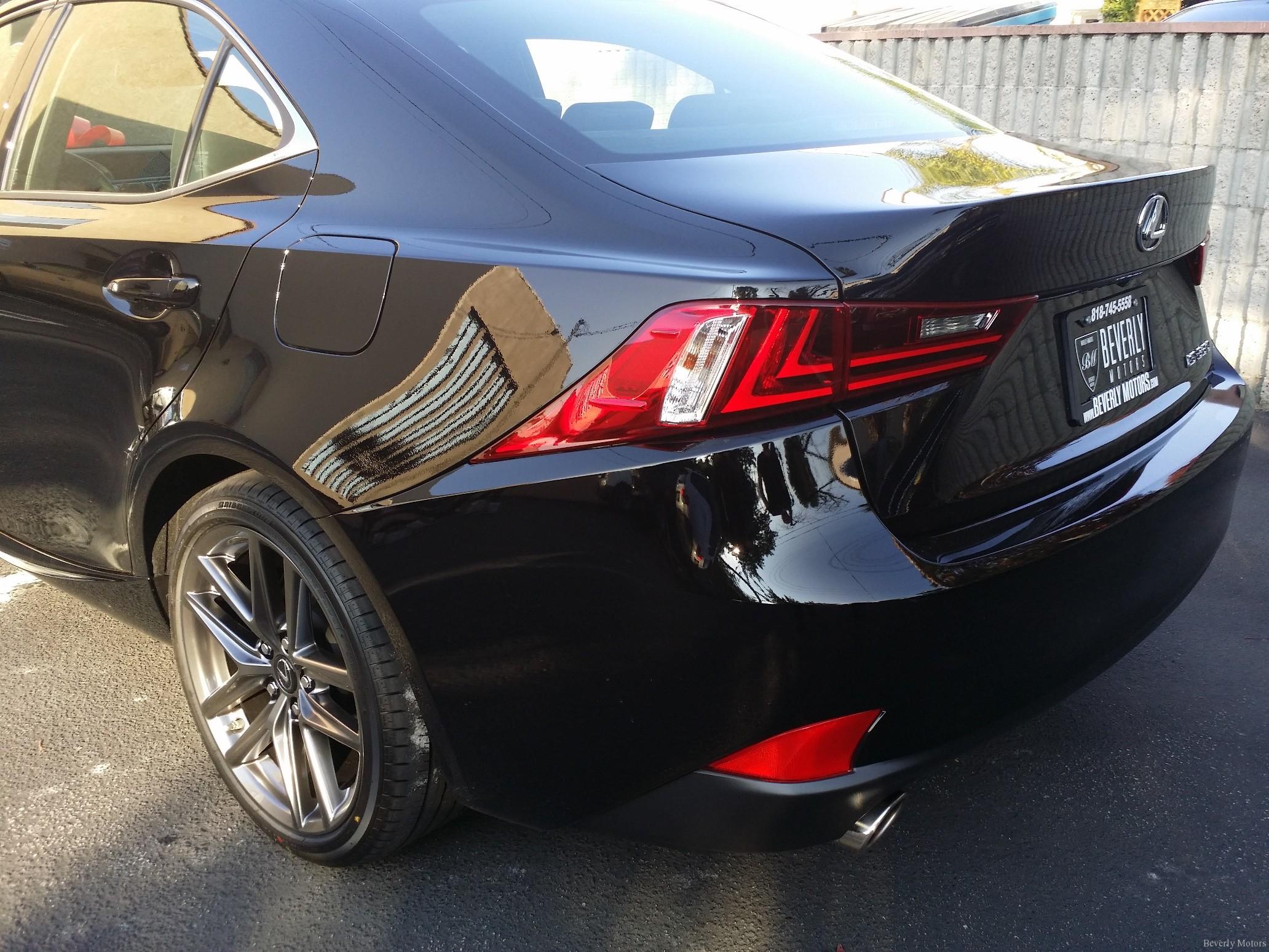 12 12 13 2014 Lexus IS350 F Sport Glendale Auto Leasing New