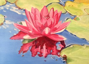 Day 16. Lotus | Beverly Shipko, Artist