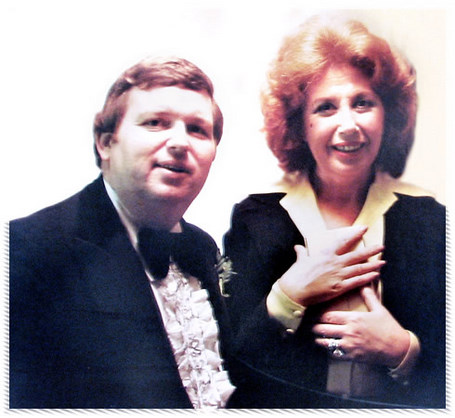 Beverly Sills and Ed Specht