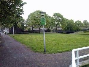 Hondenuitlaatplaats bij Schinnenbaan