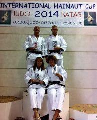 Twee gouden teams judover. Hashi.