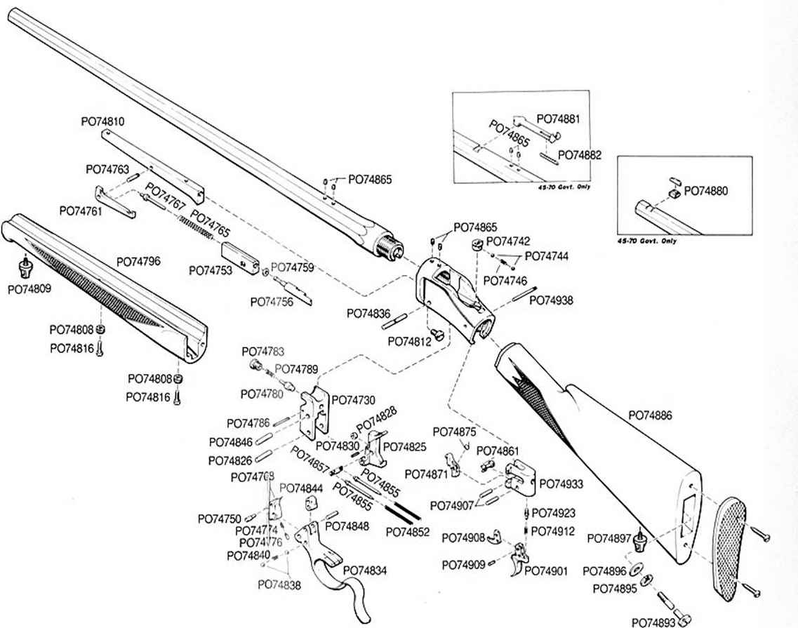 Browning A5 Parts Schematic