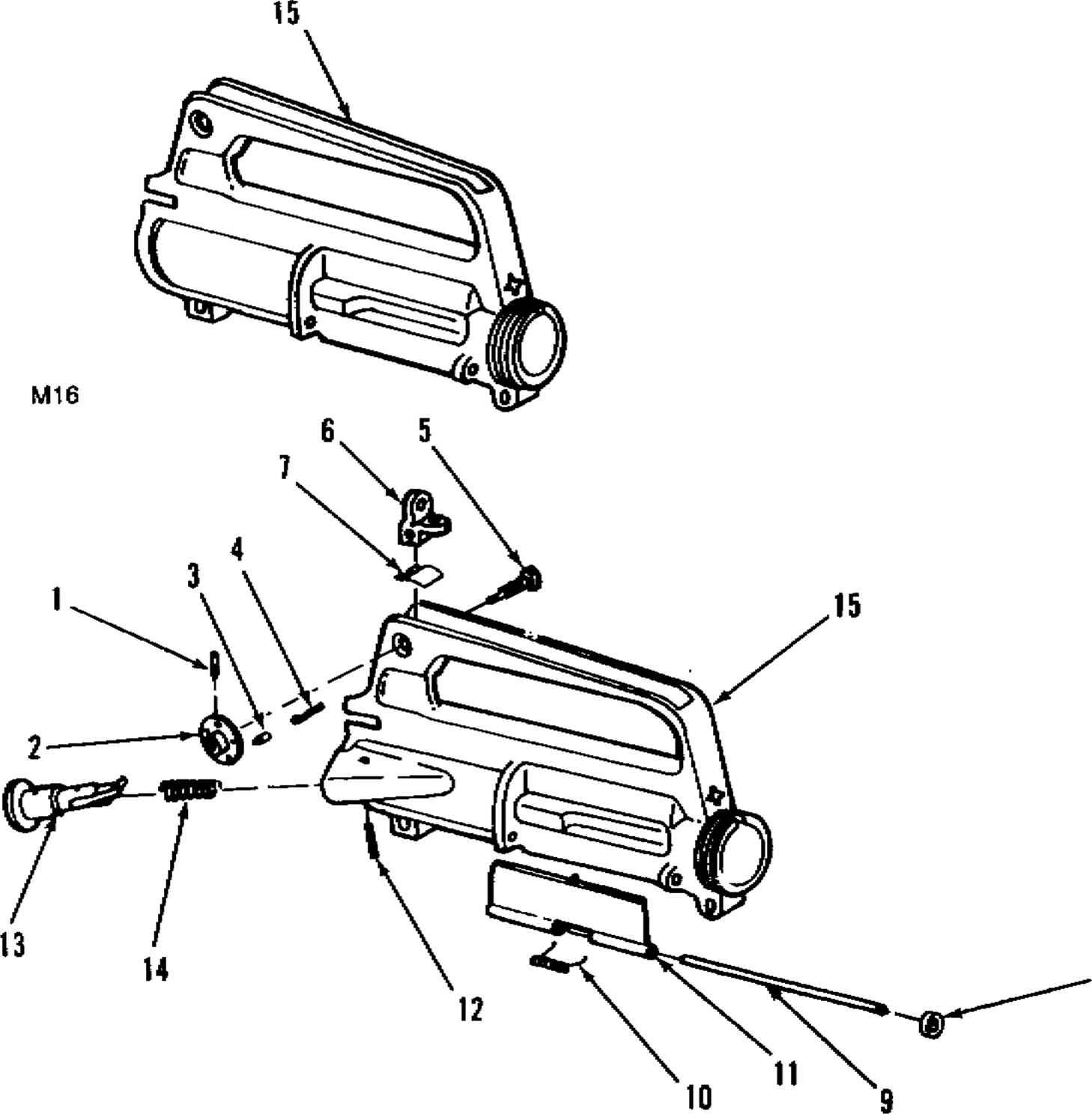 Figure C Rifle Barrel Assembly