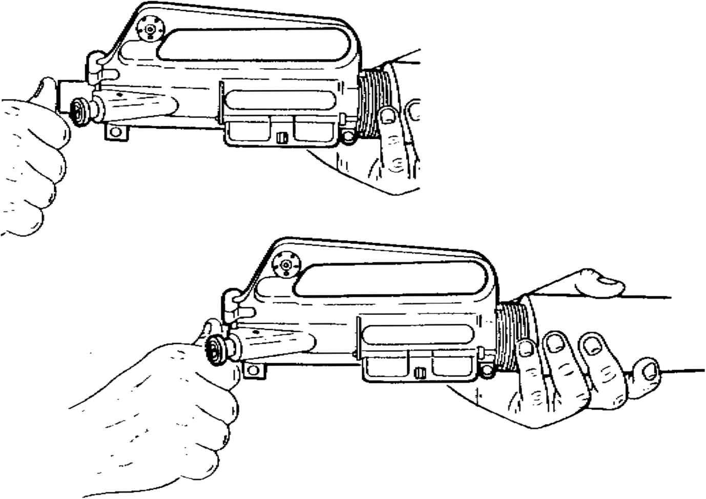 Upper Receiver And Barrel Assembly Cont