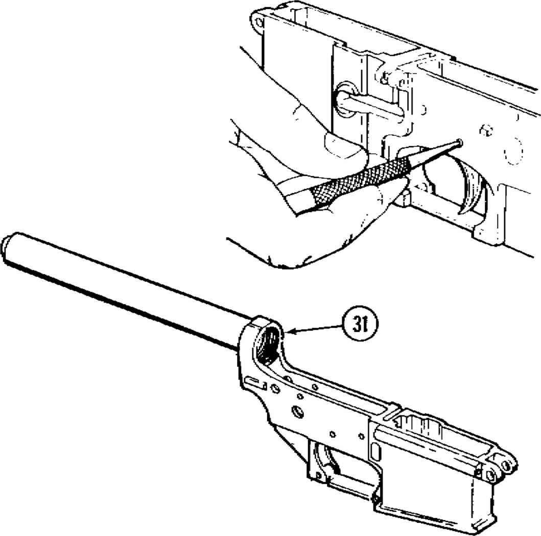 Ar 15 Receiver Schematic