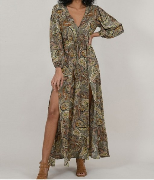 Robe longue molly Bracken collection été 2020
