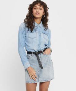 Chemise en jean clair Rockit